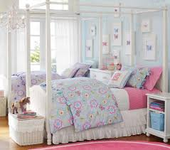 Pink And Blue Girls Bedroom Voile Bed Canopy A Romantic Way To Decorate Your Bedroom Girls
