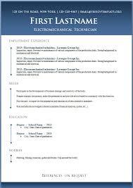 Resume Templates Libreoffice Gorgeous Resume Template Libreoffice Colbroco