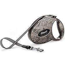 <b>Flexi</b> Fashion Retractable Dog Leash Snake Print Medium on ...