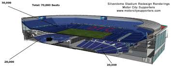 Silverdome Now The 2nd Largest Stadium In Mi Mgoblog