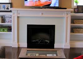 ... Drop Dead Gorgeous Fireplace Decoration With Various Tile Fireplace  Surround : Comely Home Interior Design Using ...