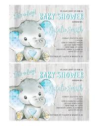 Baby Shower Invitations Template Baby Shower Invitations Boy Elephant Baby Shower Invitation Its A Boy Baby Shower Invites Template W1b