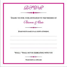 Rsvp In Wedding Cards Wedding Rsvp Cards Wording Etiquette