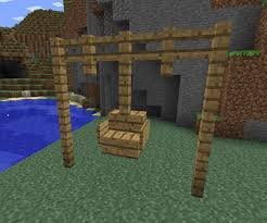 minecraft ideas Swinging Chair …