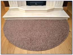 elegant half circle rugs for image of round area rugs for kitchen half circle crochet free