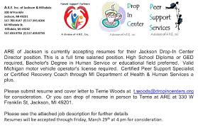 Cover Letter For Peer Support Specialist Jacksonmijobs Hashtag On Twitter