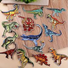 New arrival <b>10 pcs</b> Wild Animals <b>Dino</b>. Embroidered patches <b>iron on</b> ...