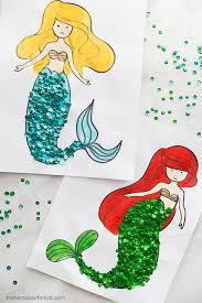 Printable mermaid coloring pages on mermaid coloring pages. Mermaid Coloring Pages The Best Ideas For Kids