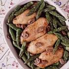asparagus  chicken  wild rice casserole