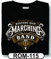 Band Tee Designs Design Custom School Spiritwear T Shirts Hoodies Team