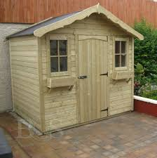 cabin style shed pressure treated