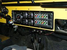 ideas on cj7 din radio install dash jpg nursery ideas re wire new gauges and dash switch panel project jeep cj