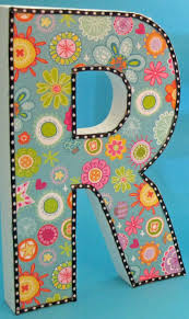 Decorative Letters Classroom Diy Diy Decorative Letters