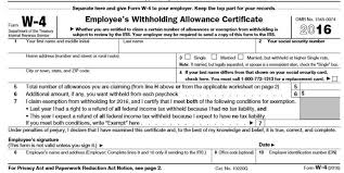 Irs Rolls Out New Income Tax Withholding Guidelines