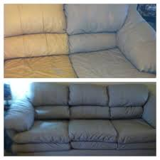 livingroom leather sofa paint painted my couch with annie sloan chalk you cant cool furniture
