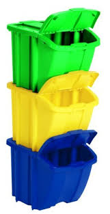 Recycle Bins For Home Cool Amazon Suncast Recycle Bin Kit In Home Recycling Bins