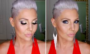 full face makeup tutorial using makeup geek duochrome eyeshadows you