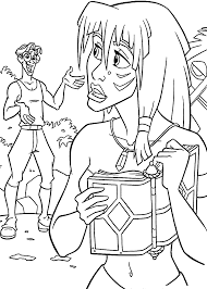 Atlantis The Lost Empire Coloring Pages