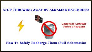 9v alkaline battery charging circuit also 1 5v cells
