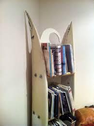 surfboard furniture. DIY Surfboard Shelf Furniture 0
