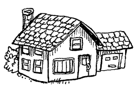 Small Picture House Coloring Page Ppinewsco