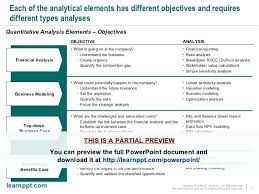 Business Case Financial Analysis Template Excel Free