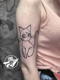 значение тату кошки и кота для девушек эскизы 115 фото