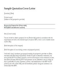 Covering Letter For Submitting Proposal Cleaner Cover Letter Trend