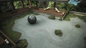 Japanese Rock Garden Peaceful Inspiration Ideas Zen Garden Modern Decoration Japanese