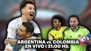 ARGENTINA VS. COLOMBIA ⚽️ VIVILO EN TyC ...