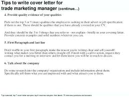 Sample Marketing Cover Letters Kliqplan Com