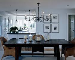 image of dining room chandelier type