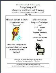 an original voice building writing assignment from comparison contrast poems between child parent