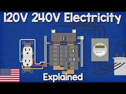120v 240v electricity explained split 240v Water Heater Wiring Diagram Cadet Heater Wiring Diagram