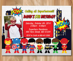 superheroes birthday party invitations superhero birthday party invitation super hero pop art bday