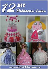 12 Inspiring Homemade Princess Birthday Cake Ideas