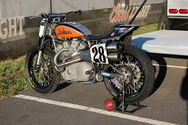some really cool dirt track sportys and other cool bikes the