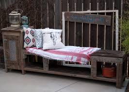 diy outdoor storage bench with side cabinet wood storage and fire pit seating