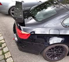 BMW Convertible bmw m3 gt4 : BMW M3 GT4 MKII v2013 wing - Carbon - New
