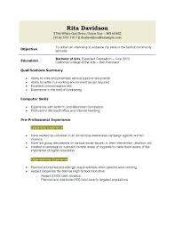 how to make a good resume with little experience resume template for high  school graduate 9