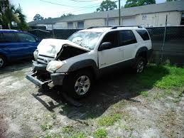 Damaged 2003 Toyota 4Runner offroad frame is OK for sale