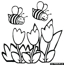 Free Printable Spring Coloring Pages For Preschoolers Musicplanetinfo