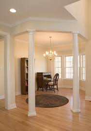 Decorative Interior Columns Wooden Columns Interior House Graybijius