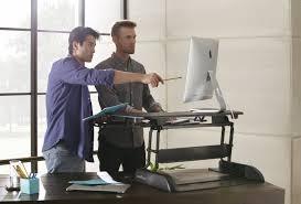 varidesk standing desk image