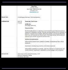 sample veterinary technician resume veterinary technician resume examples