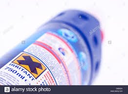 Bottle Of Bleach Warning Sign On A Household Bleach Product Bottle Stock Photo