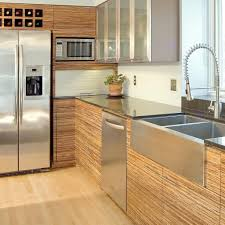 Bamboo Cabinets Kitchen Horizontal Grain Bamboo Kitchen Cabinets Cliff Kitchen
