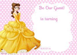 Royal Invitation Template Free Printable Beauty And The Beast Royal Invitation