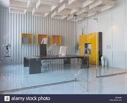 modern interior office stock. Modern Interior Design Of Office Room (3D Render) Stock E