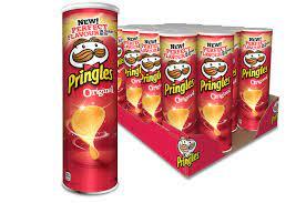 Pringles Original Chips Rolle 19x 200g